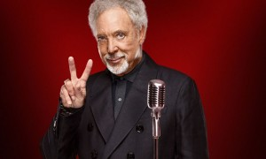Tom Jones posing here for the Voice!