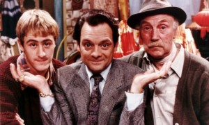 Sir David Jason & only fools and horses